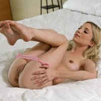 Cute petite skinny blonde Piper Perri