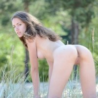 Sabrina a natural nude skinny beauty girl