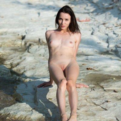 Skinny girl nudes of Adel Morel