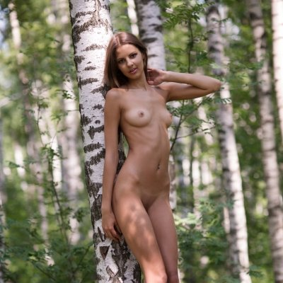 Amazing nudes of Sandra Lauver a skinny girl STUNNER