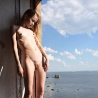 Slim and little girl Marika in Domai extraordinary photo set