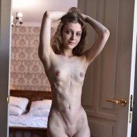 Beautiful Lika is a skinny and toned girl