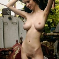 Domai girl Valentina is an extraordinary slim girl with HUGE breasts